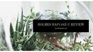 Holmes HAP116Z-U Air Purifier: Trusted Review & Specs
