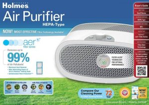 Holmes HAP9240-NWU Air Purifier: Trusted Review & Specs