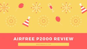 Airfree P2000 Air Purifier: Trusted Review & Specs