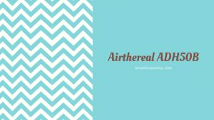 Airthereal ADH50B Air Purifier: Trusted Review & Specs